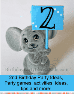 2nd Birthday Party Ideas Games Themes Timeline For Two Year Old Parties