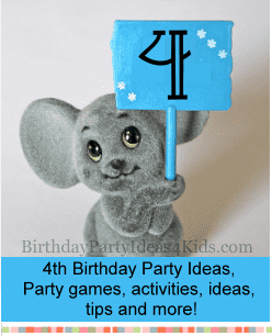 4th Birthday Party Ideas