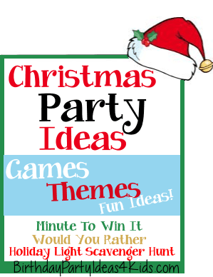 Christmas Party Ideas | Christmas Party Games, Activities, Themes