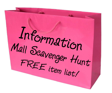 Information scavenger hunt list