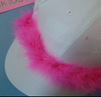 Make a fun hat craft for birthday party