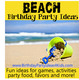 Beach Birthday Party Theme