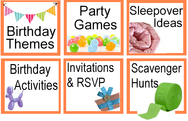 Birthday Party Ideas  Kids Party Ideas Games Themes