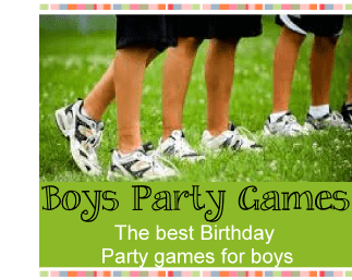 Boys birthday party games