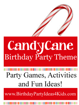 Candy Cane Birthday Party Theme Ideas