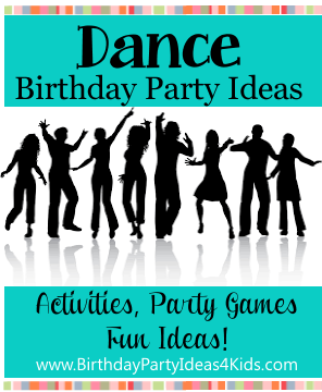 Dance theme party ideas