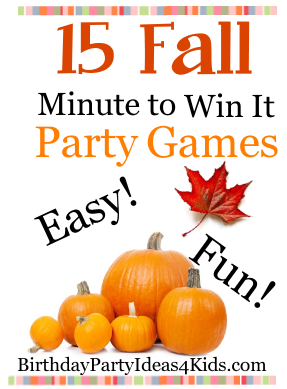 15 Fall Minute To Win It Games