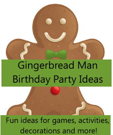 gingerbread man party ideas