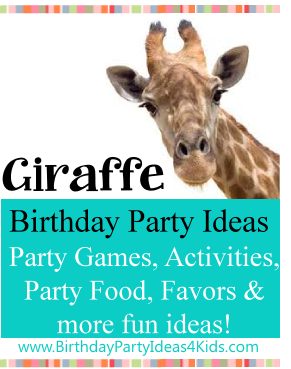 Giraffe Is Everyones Favorite Animal And Having A Birthday