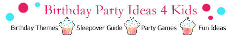 birthday party ideas 4 kids logo link