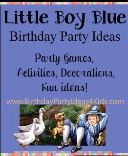 Little Boy Blue Party Ideas