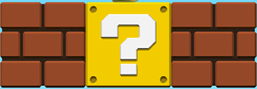 New Super Mario Bros question mark