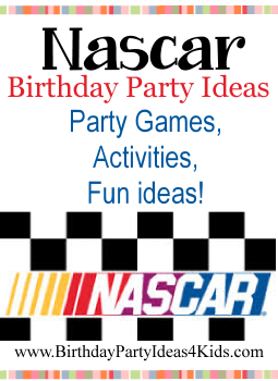 Nascar birthday party birthday party ideas for kids nascar birthday party ideas filmwisefo Choice Image