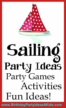 Sailing Birthday Party Theme