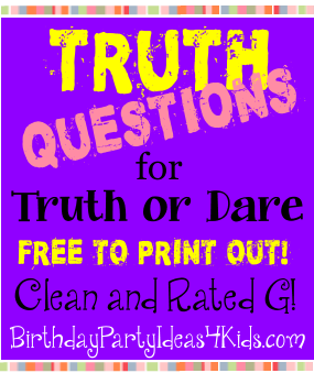 Dare question teen truth