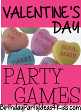 Valentineu0027s Day Themed Party Games