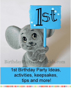 1st birthday party ideas for boys and girls first parties