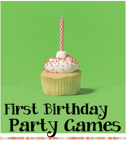 1st birthday party games