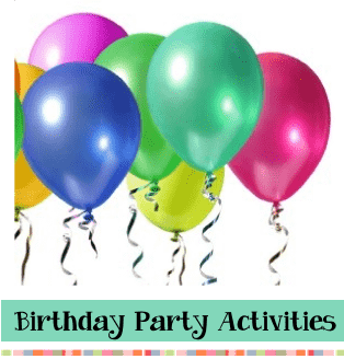 birthday party activities, craft recipes, fun ideas