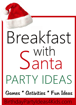 breakfast with santa birthday theme ideas