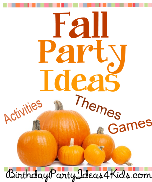 Fall party ideas for kids