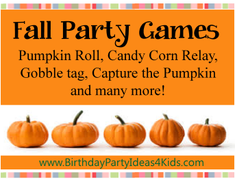Fall Theme Party Games