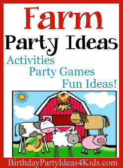 Farm Party Ideas   Birthday Party Ideas for Kids