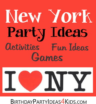New York City Party Ideas Birthday Party Ideas for Kids