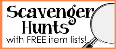 scavenger hunts with free lists