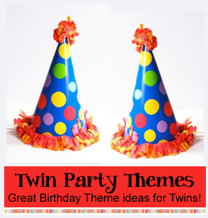Twin Birthday Party Theme Ideas